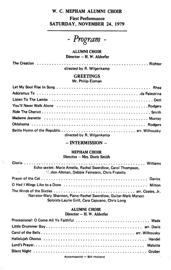 Black White Music Recital Program Template Flyer Free Recital